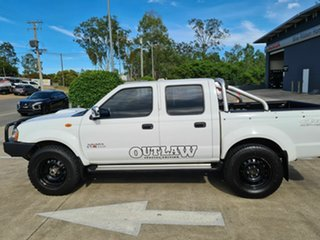 2012 Nissan Navara D22 S5 ST-R White 5 Speed Manual Utility