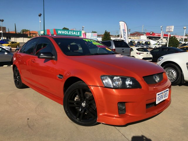 Used Holden Commodore VE MY08 SV6 Victoria Park, 2007 Holden Commodore VE MY08 SV6 Orange 5 Speed Automatic Sedan
