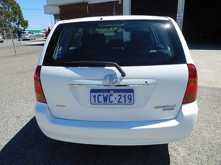 2006 Toyota Corolla ZZE122R 5Y Conquest White 4 Speed Automatic Wagon