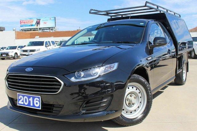 Used Ford Falcon FG X Super Cab Coburg North, 2016 Ford Falcon FG X Super Cab Black 6 Speed Sports Automatic Cab Chassis