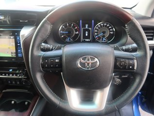 2015 Toyota Fortuner GUN156R Crusade Blue 6 Speed Automatic Wagon