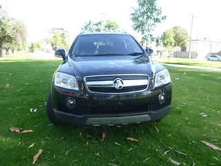 2010 Holden Captiva CG LX Black Sports Automatic Wagon.