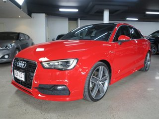 2016 Audi A3 8V MY16 Ambition S Tronic Quattro Misano Red 6 Speed Sports Automatic Dual Clutch Sedan.