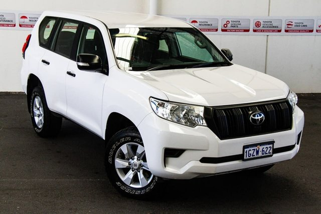 Pre-Owned Toyota Landcruiser Prado GDJ150R MY17 GX (4x4) Rockingham, 2018 Toyota Landcruiser Prado GDJ150R MY17 GX (4x4) Glacier White 6 Speed Automatic Wagon