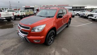 2015 Holden Colorado RG MY16 Z71 Crew Cab Orange 6 Speed Sports Automatic Utility