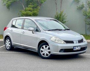 2007 Nissan Tiida C11 MY07 ST Silver 4 Speed Automatic Hatchback.