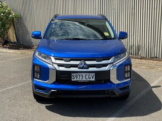 2020 Mitsubishi ASX XD MY21 LS 2WD Lightning Blue 1 Speed Constant Variable Wagon