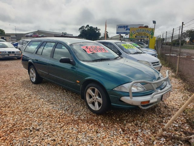 Used Ford Falcon Holtze, 1999 Ford Falcon Green 4 Speed Automatic Wagon
