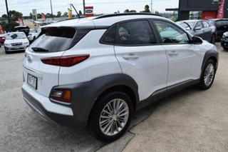 2018 Hyundai Kona OS MY18 Elite 2WD White 6 Speed Sports Automatic Wagon