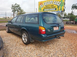1999 Ford Falcon Green 4 Speed Automatic Wagon.