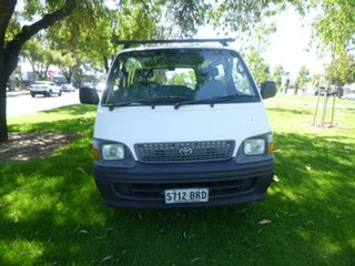 2000 Toyota HiAce RZH113R White 5 Speed Manual Van.