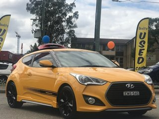 2015 Hyundai Veloster FS4 Series II SR Coupe Turbo Yellow 6 Speed Manual Hatchback