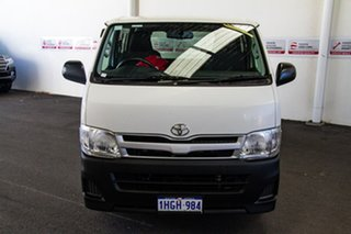 2013 Toyota HiAce KDH201R MY12 Upgrade LWB French Vanilla 5 Speed Manual Van.