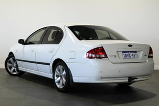 2007 Ford Falcon BF Mk II XT White 6 Speed Sports Automatic Sedan