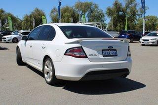 2012 Ford Falcon FG MkII XR6 White 6 Speed Sports Automatic Sedan.