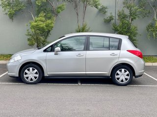 2007 Nissan Tiida C11 MY07 ST Silver 4 Speed Automatic Hatchback