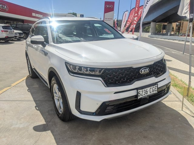 Demo Kia Sorento MQ4 MY21 S AWD St Marys, 2020 Kia Sorento MQ4 MY21 S AWD Snow White Pearl 8 Speed Sports Automatic Dual Clutch Wagon