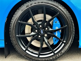 2017 Ford Focus LZ RS AWD Limited Edition Blue 6 Speed Manual Hatchback