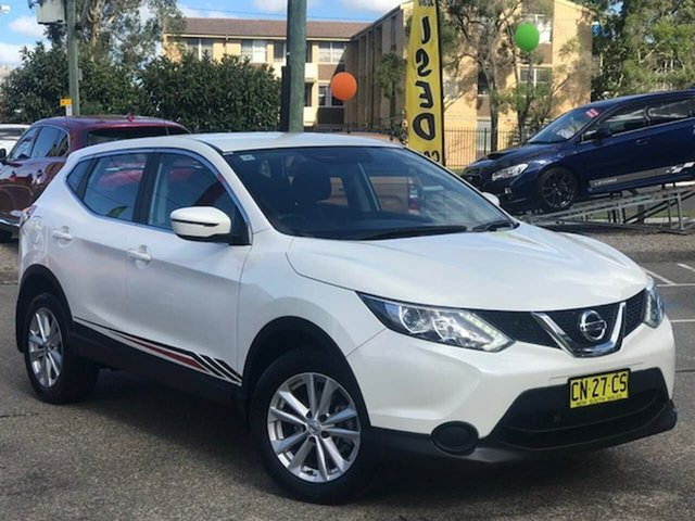 Used Nissan Qashqai J11 ST Liverpool, 2017 Nissan Qashqai J11 ST White 1 Speed Constant Variable Wagon