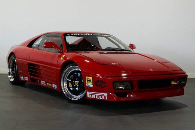 Used Ferrari 348 TB Bayswater, 1992 Ferrari 348 TB Red 5 Speed Manual Coupe