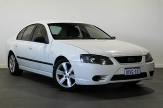 2007 Ford Falcon BF Mk II XT White 6 Speed Sports Automatic Sedan.
