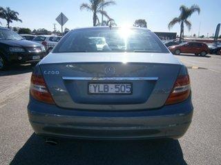 2011 Mercedes-Benz C-Class W204 MY11 C200 BlueEFFICIENCY 7G-Tronic + Grey 7 Speed Sports Automatic