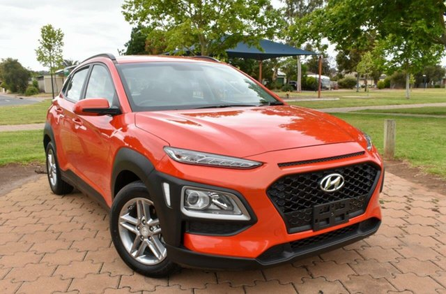 Used Hyundai Kona OS.2 MY19 Active 2WD Ingle Farm, 2019 Hyundai Kona OS.2 MY19 Active 2WD Orange 6 Speed Sports Automatic Wagon