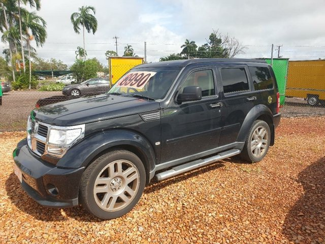Used Dodge Nitro Holtze, 2008 Dodge Nitro Black 4 Speed Automatic Wagon