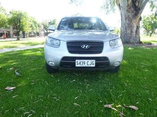 2008 Hyundai Santa Fe CM SLX Silver Sports Automatic Wagon.