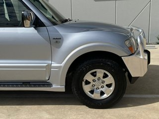 2004 Mitsubishi Pajero NP MY04 GLS 21ST Anniversary Silver 5 Speed Sports Automatic Wagon
