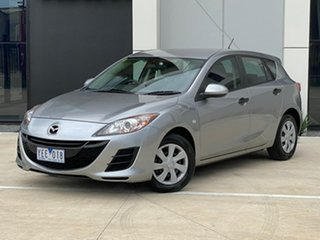 2010 Mazda 3 BL10F1 MY10 Neo Silver 6 Speed Manual Hatchback.