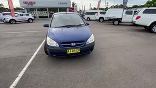 2005 Hyundai Getz TB MY06 Blue 5 Speed Manual Hatchback