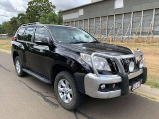 2010 Toyota Landcruiser Prado KDJ150R GXL (4x4) Ebony 5 Speed Sequential Auto Wagon.
