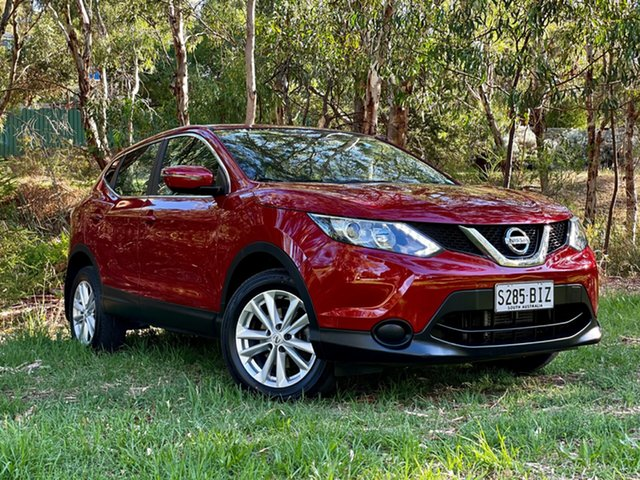 Used Nissan Qashqai J11 ST Reynella, 2015 Nissan Qashqai J11 ST Magnetic Red 1 Speed Constant Variable Wagon