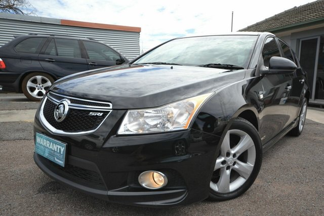 Used Holden Cruze JH MY12 SRi Blair Athol, 2012 Holden Cruze JH MY12 SRi Black 6 Speed Automatic Hatchback