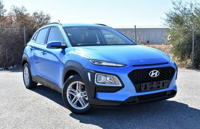 Used Hyundai Kona OS.2 MY19 Active 2WD Ingle Farm, 2019 Hyundai Kona OS.2 MY19 Active 2WD Blue 6 Speed Sports Automatic Wagon