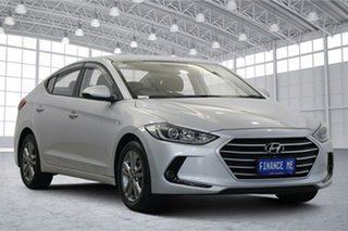 2018 Hyundai Elantra AD.2 MY19 Active Platinum Silver 6 Speed Sports Automatic Sedan.