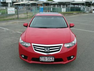 2012 Honda Accord 10 MY13 Euro Luxury Navi Red 5 Speed Automatic Sedan