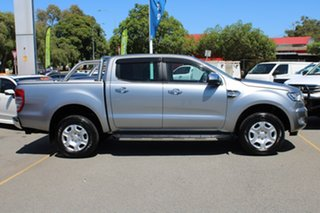2016 Ford Ranger PX MkII XLT Double Cab 4x2 Hi-Rider Silver 6 Speed Sports Automatic Utility