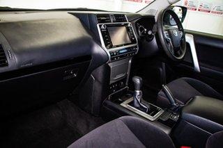 2018 Toyota Landcruiser Prado GDJ150R MY17 GX (4x4) Glacier White 6 Speed Automatic Wagon