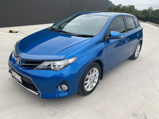 2013 Toyota Corolla ZRE182R Ascent Sport S-CVT Blue 7 Speed Constant Variable Hatchback.