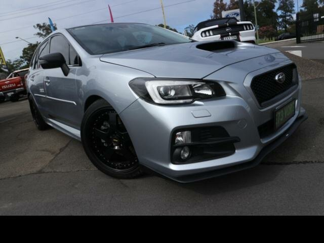 Used Subaru Levorg MY17 2.0 GT-S (AWD) Kingswood, 2016 Subaru Levorg MY17 2.0 GT-S (AWD) Silver Continuous Variable Wagon