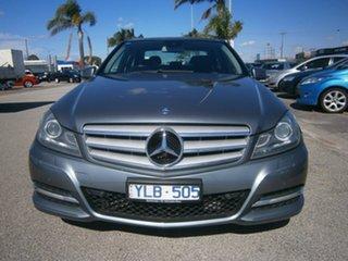 2011 Mercedes-Benz C-Class W204 MY11 C200 BlueEFFICIENCY 7G-Tronic + Grey 7 Speed Sports Automatic.