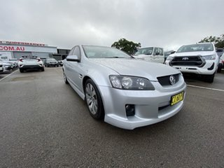 2008 Holden Commodore VE SV6 Silver 5 Speed Sports Automatic Sedan.