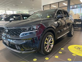 2020 Kia Sorento MQ4 MY21 GT-Line AWD Gravity Blue 8 Speed Sports Automatic Dual Clutch Wagon.