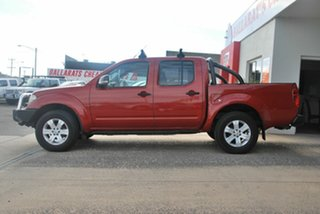 2008 Nissan Navara D40 ST-X (4x4) Red 6 Speed Manual Dual Cab Pick-up