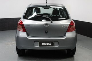 2008 Toyota Yaris NCP91R YRS Silver, Chrome 5 Speed Manual Hatchback