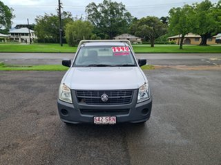 2007 Holden Rodeo RA DX Silver 5 Speed Manual Utility.