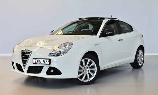 Used Alfa Romeo Giulietta Series 0 MY12 Distinctive TCT Thomastown, 2013 Alfa Romeo Giulietta Series 0 MY12 Distinctive TCT White 6 Speed Sports Automatic Dual Clutch