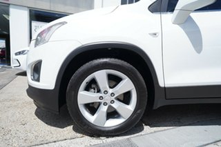 2013 Holden Trax TJ MY14 LTZ White 6 Speed Automatic Wagon.